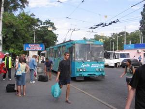 Crimean Trolleybus in Simferopol