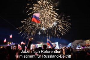 Jubel nach Referendum