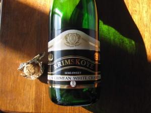 Sevasopol Crimean White Champagne