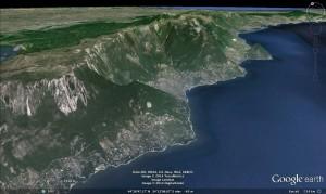 Yalta - Google Earth